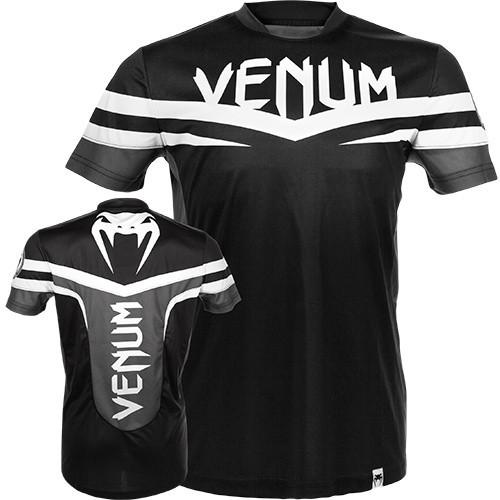 Футболка Venum - Sharp Dry Fit (EU-V-SDT-Blk) Black & White р. XXL