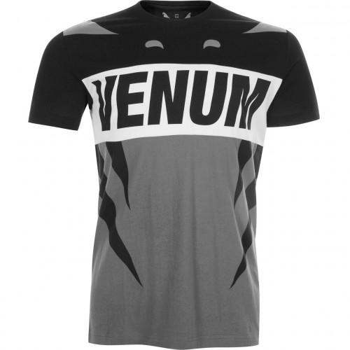 Футболка Venum Revenge T-Shirt (VENUM-02676-GB) Grey Black р. L