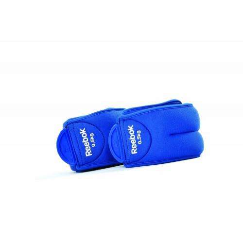 Утяжелители для ног Reebok 2х0.5 кг (RAEL-11074BL)
