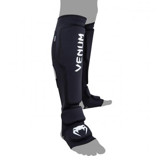 Защита голеностопа Venum Kontact Evo Shinguards (V-KE-SB) Black р. M/L