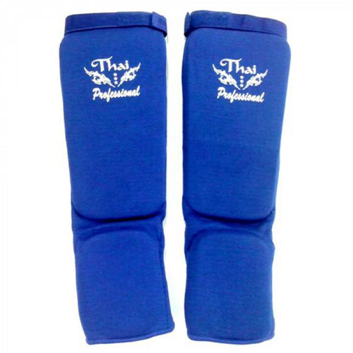 Защита ног Thai Professional (SG5) Blue р. M