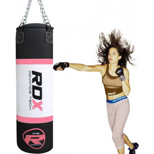 Боксерский мешок RDX Pink 1.2 м, 30-35 кг