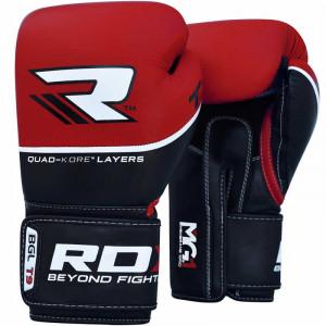 Боксерские перчатки RDX Quad Kore Red 12 oz
