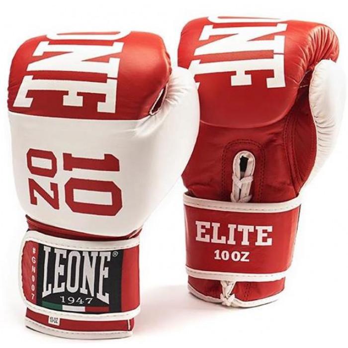 Боксерские перчатки Leone Elite Red 10 oz