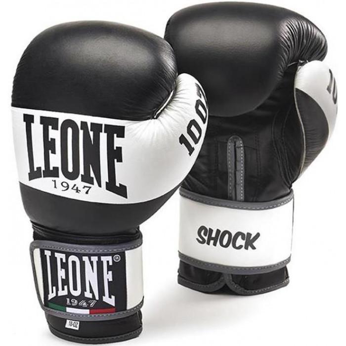 Боксерские перчатки Leone Shock Black 10 oz