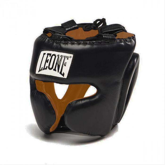 Боксерский шлем Leone Performance Black р. L