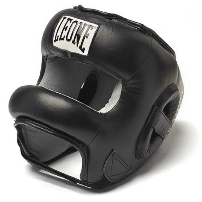 Боксерский шлем с бампером Leone Protection L