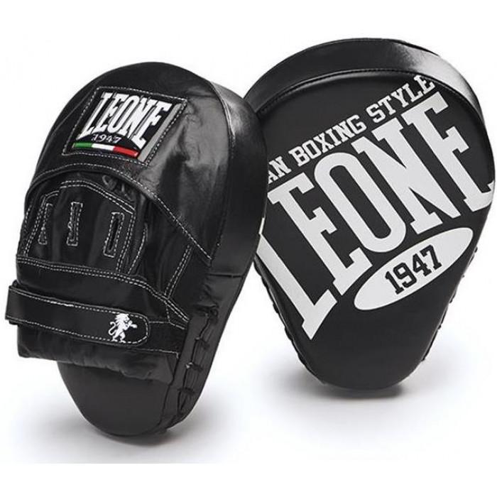 Лапы боксерские Leone Curved