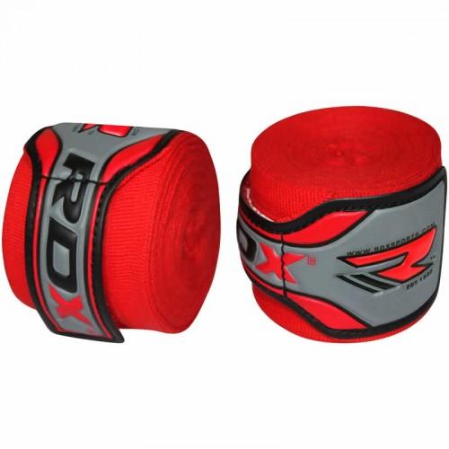 Боксерские бинты RDX Fibra Red 4.5 м
