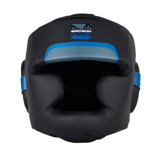 Боксерский шлем Bad Boy Pro Series 3.0 Full Blue р. XL
